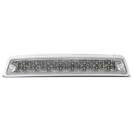 For 1994 to 2002 Dodge RAM Truck 1500 2500 3500 Dual Row LED 3rd Tail Brake Light w / Cargo Lamp Chrome Housing 95 96 97 98 99 00 (95 Suzuki Samurai Tail Light)
