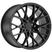 "TSW Sebring 19x8.5 5x114.3 (5x4.5"") +40mm Matte Black Wheel Rim"