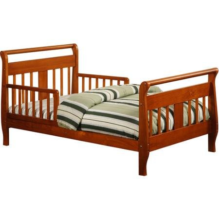 Baby Relax Sleigh Toddler Bed Walnut