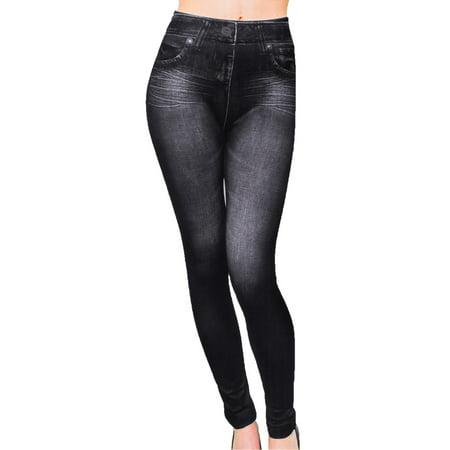 Women's Jeggings - Black Jeans Leggings Small