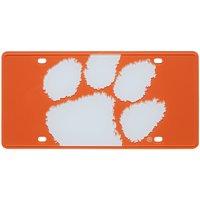 Clemson Tigers Paw Mega License Plate