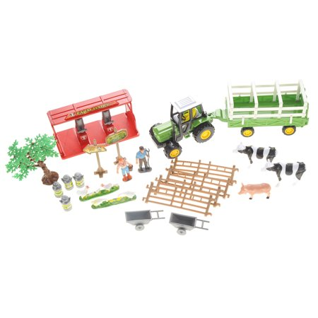 Dairy Farm Playset With Tractor PS802