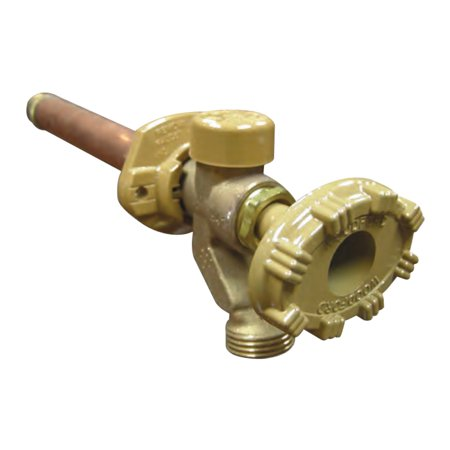 10 Inch Hydrant - Woodford Series 19 Anti-Siphon Freezeless Wall Hydrant, 1/2 x 3/4 Inch, FPT x MPT, 10 Inch Wall Thickness, 125 psi