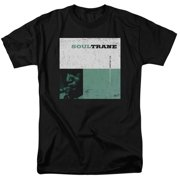 Trevco Concord Music-Soultrane - Short Sleeve Adult 18-1 Tee - Black, Small