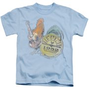 Sun Records Rockin Rooster Little Boys Shirt