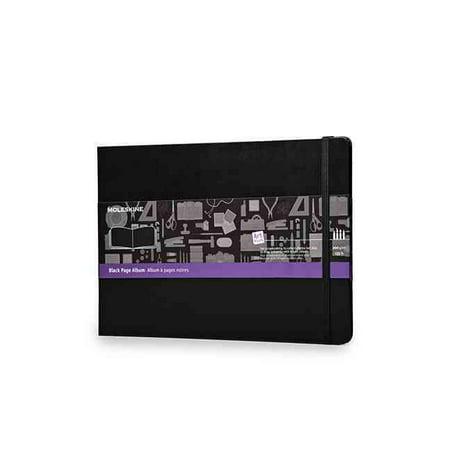 Moleskine Art Plus Black Page Album A4 Black Hard Cover 8 5 X 12 Black Page Albums