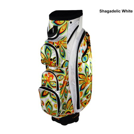 Loudmouth Golf Adelic White Cart Bag