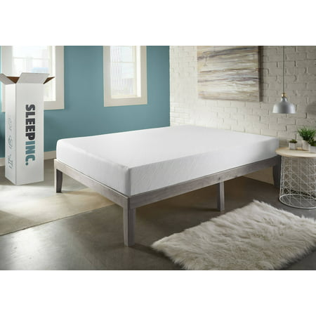 SLEEPINC. 8-inch Memory Foam Mattress Perfect Sleep Temperature and Customized Support, Twin