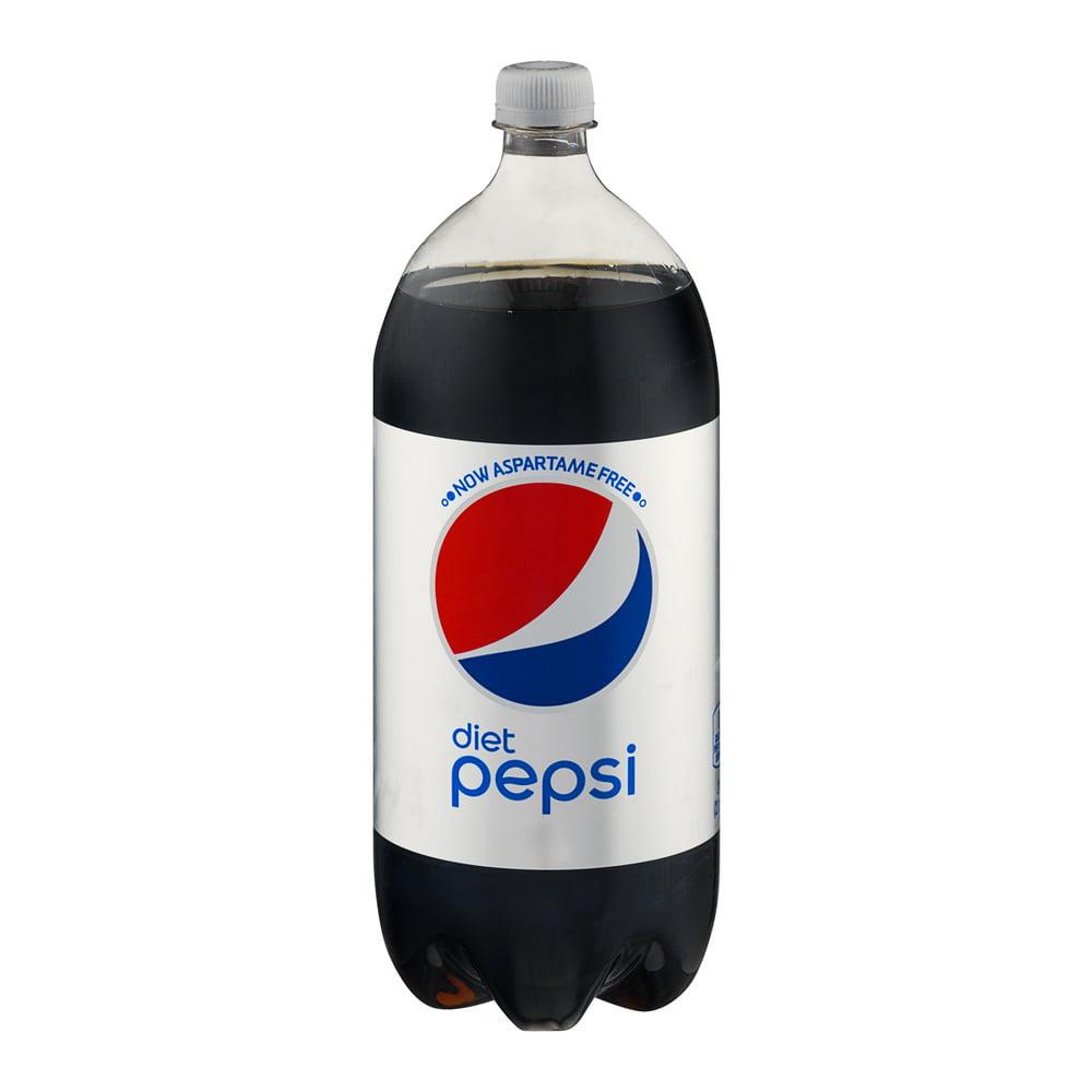 diet pepsi diet soda 2 l 1 count walmartcom