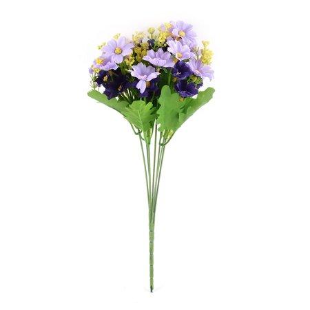 artificial chrysanthemum flower bouquet wedding home garden decor light purple. Black Bedroom Furniture Sets. Home Design Ideas