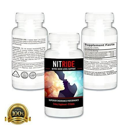 L'oxyde nitrique Booster débit sanguin Homme Enhancement - Matière active de Nitrure Proven pour promouvoir l'augmentation du flux sanguin à Male Structures & Stimulez Sex-capacité (270 onglets, 3 bouteilles)