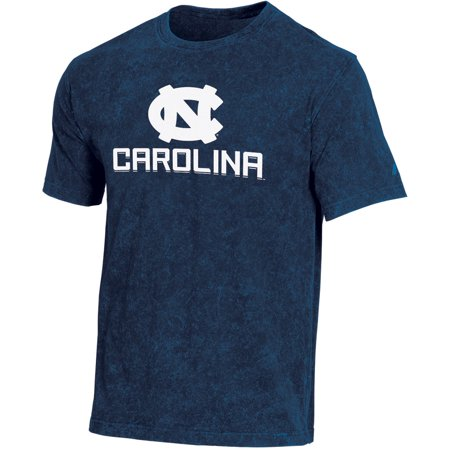 Men's Russell Navy North Carolina Tar Heels Classic Fit Enzyme Wash T-Shirt