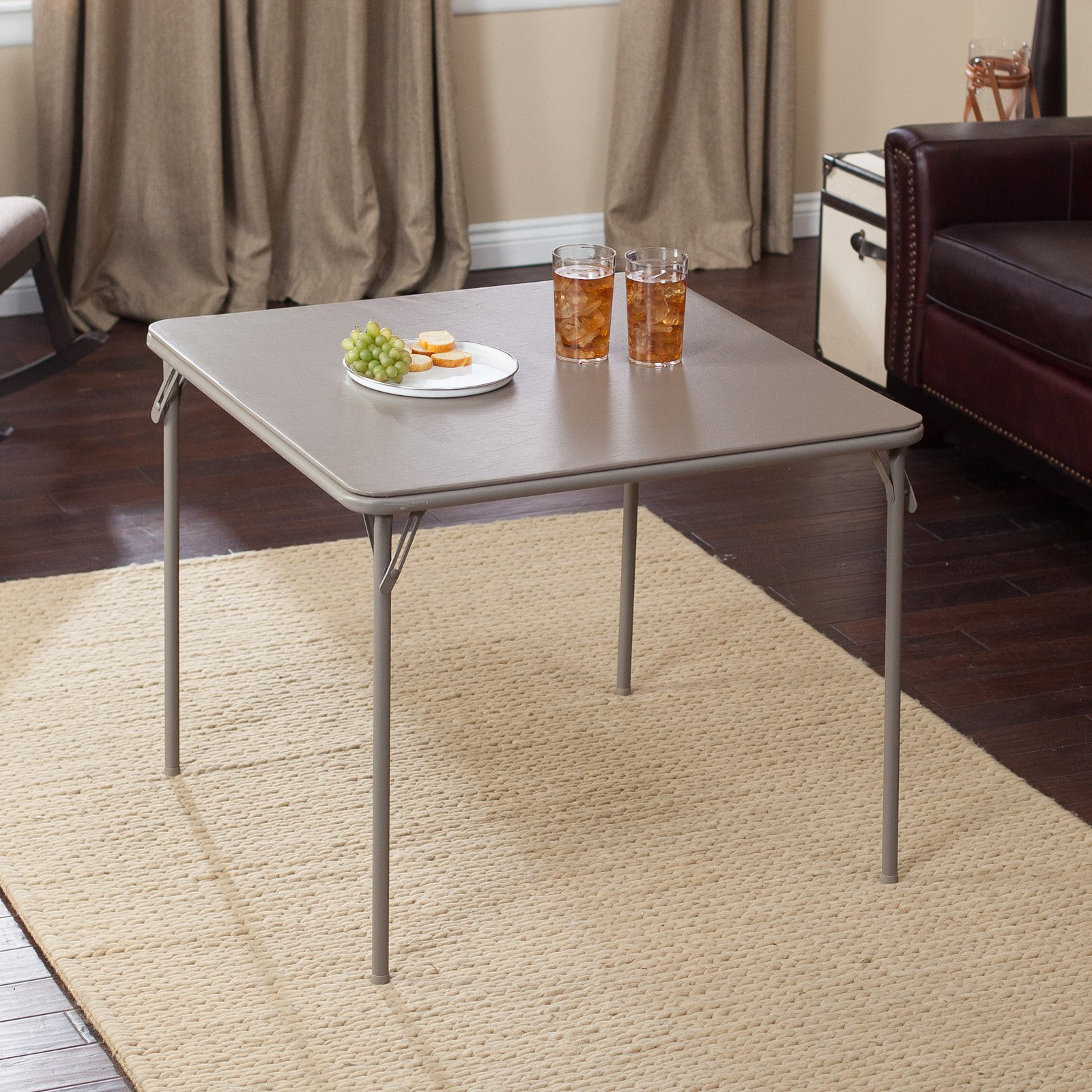 Meco 34 in. Square Vinyl Folding Card Table by Meco Corp