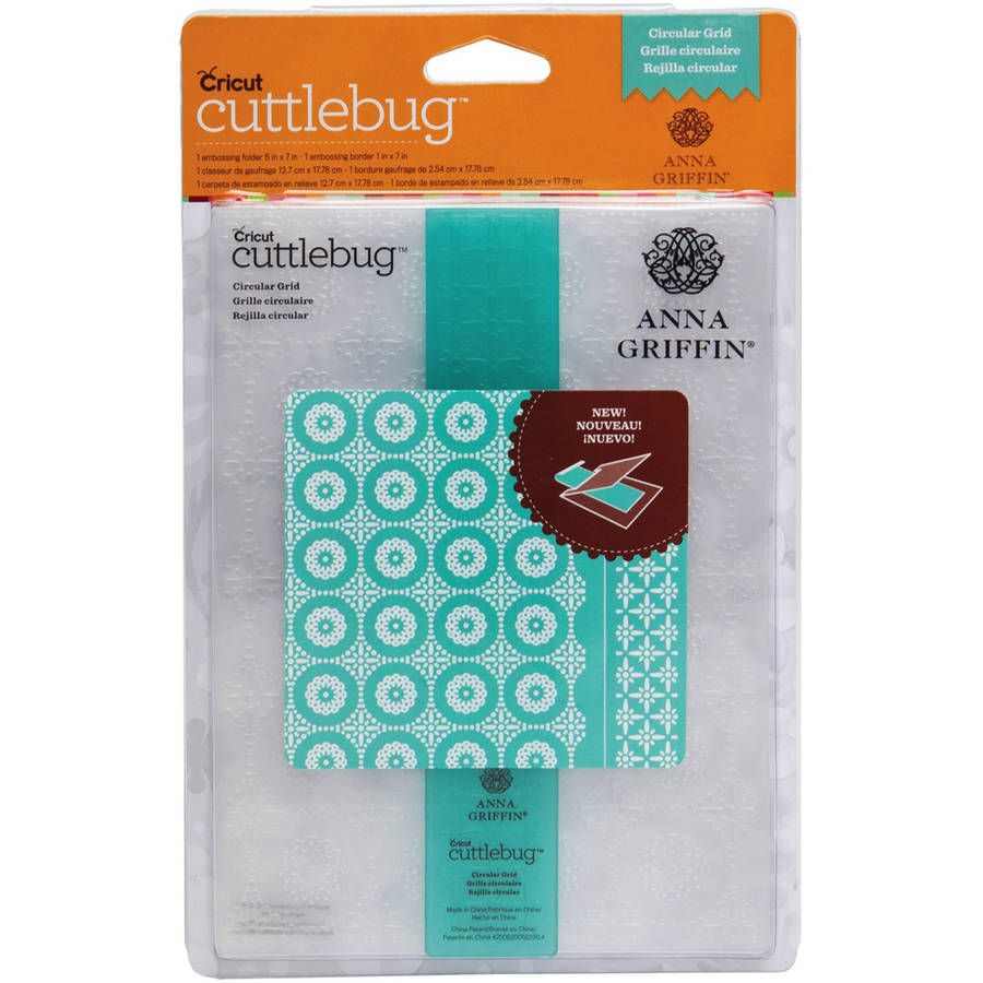 "Cuttlebug 5"" x 7"" Embossing Folder/Border Set"