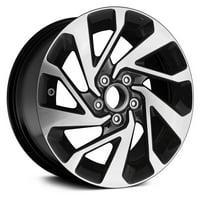 PartSynergy New Aluminum Alloy Wheel Rim 16 Inch Fits 2016-2018 Honda Civic 16x7 5 on 114.3 - 4.5 Inches 10 Spoke