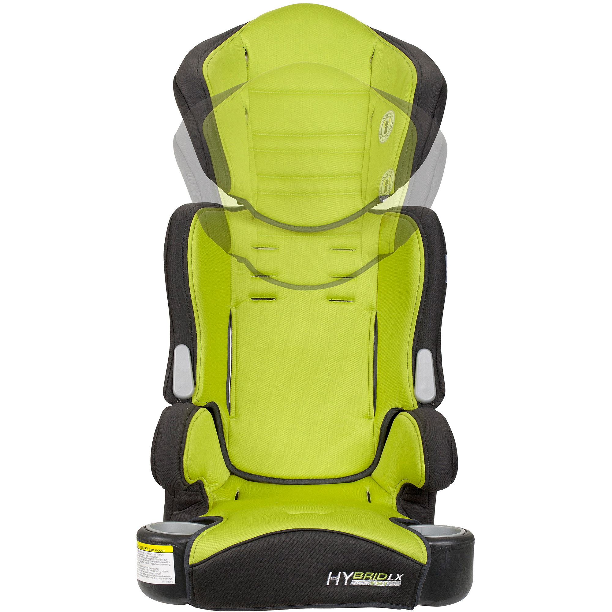 Baby Trend Hybrid LX 3 In 1 Booster Car Seat Kiwi