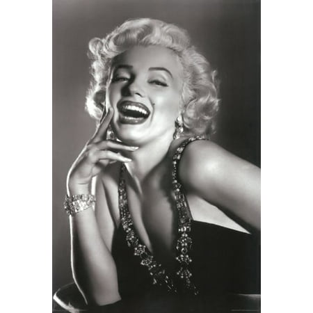 Marilyn Monroe Poster Laughing New (Marilyn Monroe Cocktail)