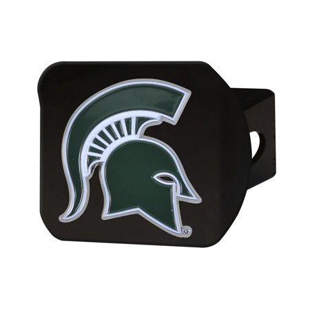 Michigan State Colors (Michigan State University Color Hitch Black)