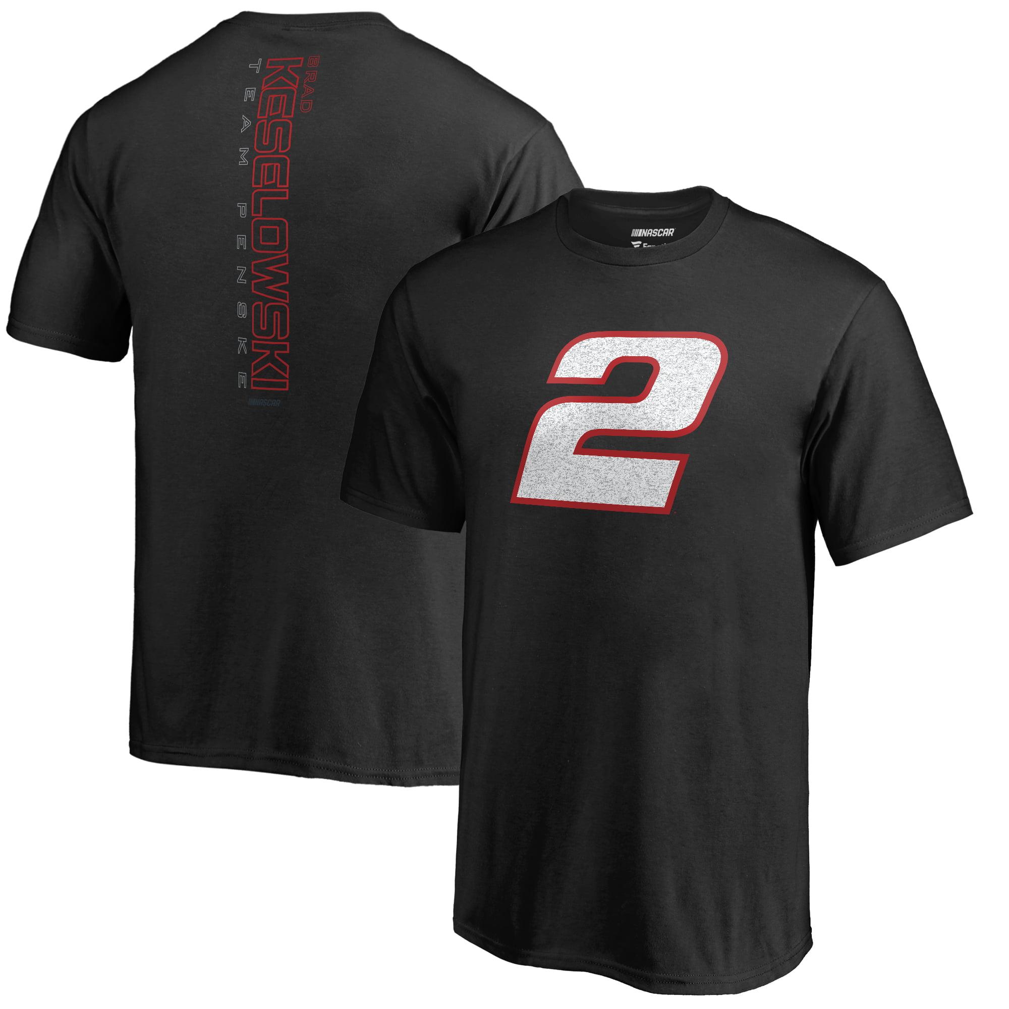 Brad Keselowski Fanatics Branded Youth Static T-Shirt - Black