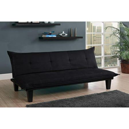 (DHP Lodge Tufted Upholstery Futon Couch, Multiple Colors)