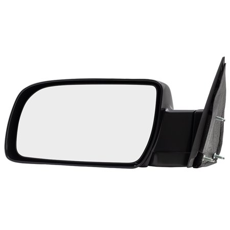 Drivers Manual Side View Mirror Standard Type w/ Metal Base Replacement for Chevrolet GMC Pickup Truck Blazer Suburban Yukon Tahoe 15764759