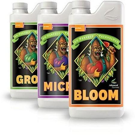 Advanced Nutrients Bloom, Micro & Grow, 1 L Each