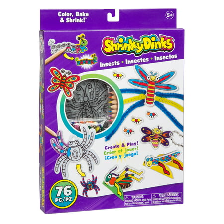 Shrinky Dinks Insects Activity - Halloween Shrinky Dinks
