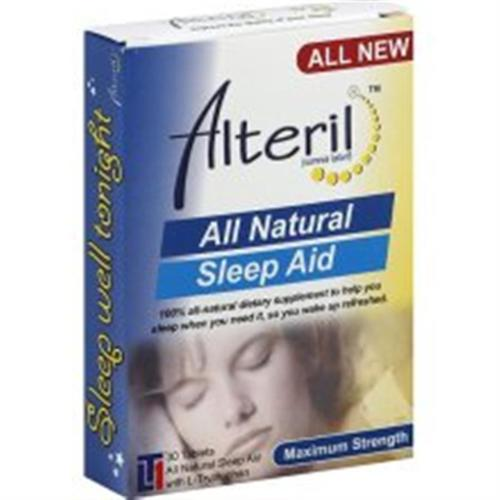 Alteril All Natural Sleep Aid 30 Tablets (Pack of 3)