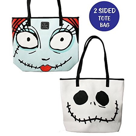 Fourever Funky - Nightmare Before Christmas Jack and Sally Tote Bag by Loungefly - Walmart.com
