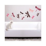 Style and Apply Colorful Dragonflies Wall Decal