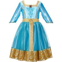 Disney Brave Merida Royal Dress Child Costume