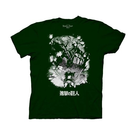 Ripple Junction Attack on Titan Season 2 Reiner Braun - Titan Form Adult T-Shirt 3XL Dark Green
