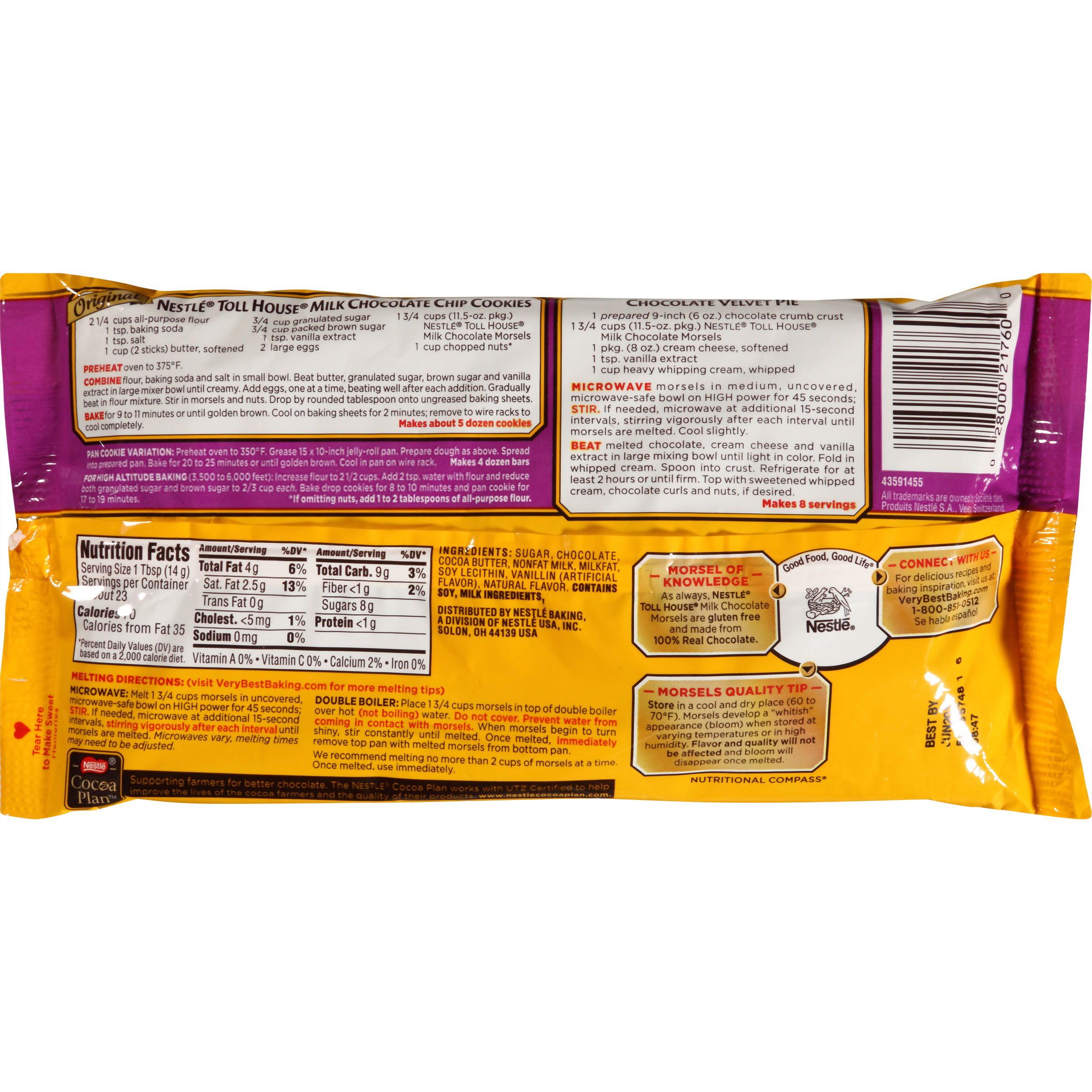 Nestle Chocolate Chips  Oz Bag