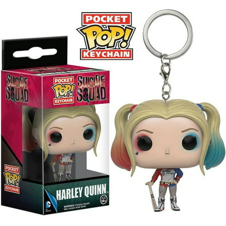 FUNKO POCKET POP! KEYCHAIN: SUICIDE SQUAD - HARLEY QUINN - Harley Quinn Decal