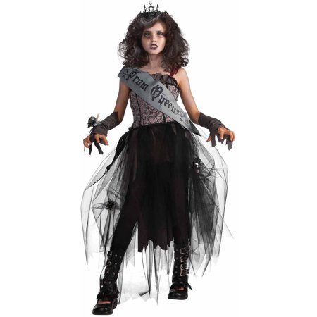 Goth Prom Queen Girls' Child Halloween Costume](Mariachi Girl Halloween Costume)