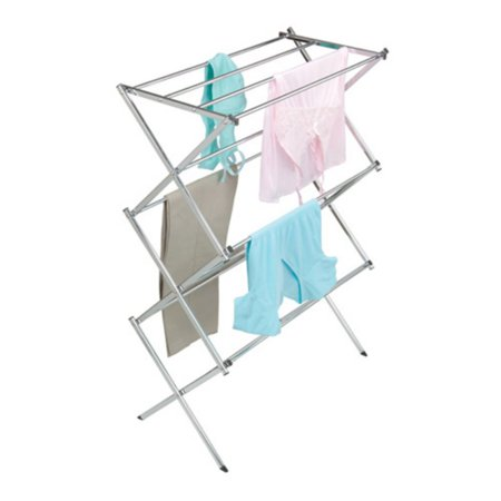 Woolite Drying Rack, Chrome Woolite Drying Rack, Chrome: Dimensions: 29.2  x 5.2  x 4.3 Steel with silver powder coatingSaves electricityEasy to assemble11 racksAllows clothes to dry draped or laid flat