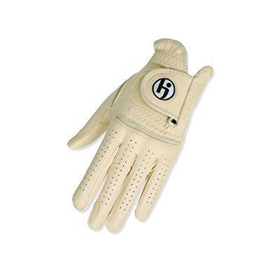 hj glove women's solite golf glove, cream, medium, left hand by
