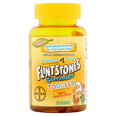 Flintstones Toddler Gummies Children's Multivitamin, 80 Count