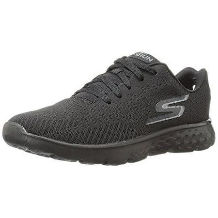 Skechers Performance Men's Go Run 400 Generate Running Shoe, Black Mesh, 8.5 M