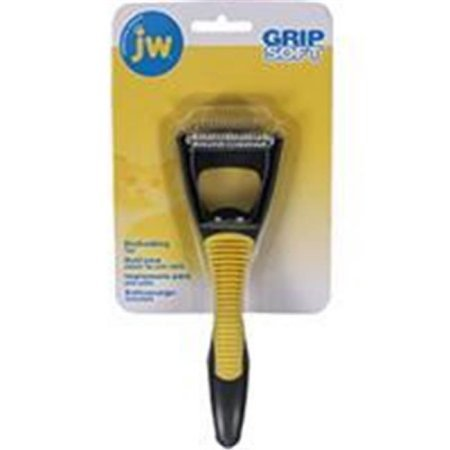 Jw Pet Company Cat Deshedding Tool Jw65049 For updated, accurate country of origin data, it is recommended that you rely on product packaging or manufacturer information. JW Pet Company Cat Deshedding Tool JW65049Deshedding tool with improved ergonomic feel and aesthetic value. Tool removes loose fur and debris to reduce overall shedding and promote a healthy skin and coat. JW has stainless steel blades and cushioned non-slip handle.