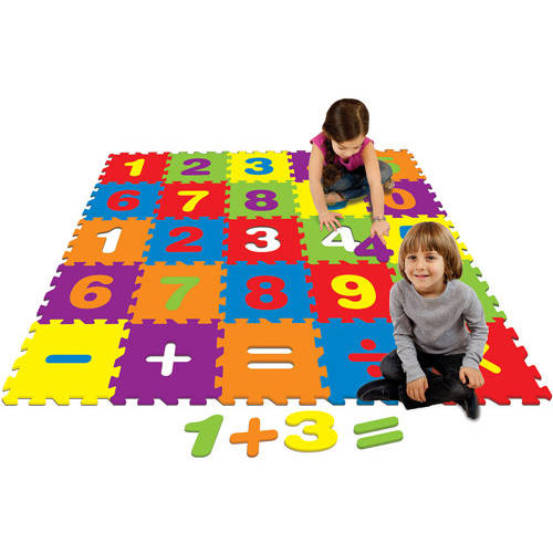 4' v 4' Activity Play Mat, Numbers