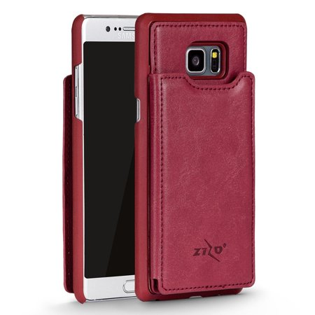 Samsung Galaxy S8 / S8 Plus Case, Zizo All-In-One ID Wallet Back