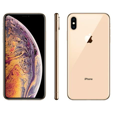 half off 24021 ce68e Straight Talk Apple iPhone XS MAX w/64GB, Gold