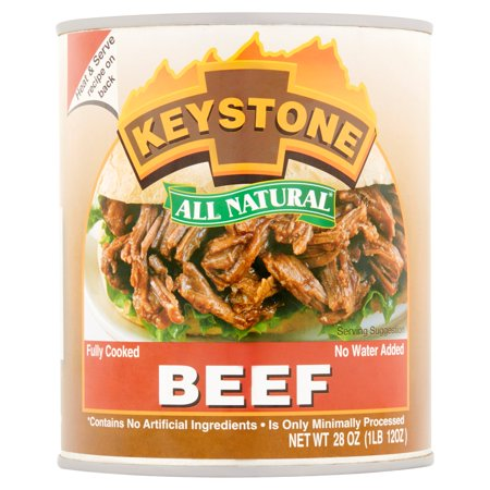 Keystone All Natural Beef  28 Oz