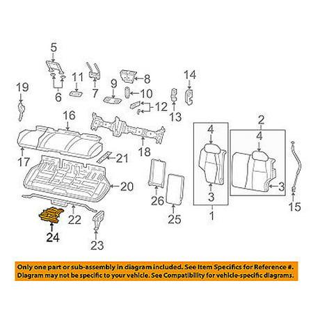 Jeep CHRYSLER OEM 08-10 Grand Cherokee Rear Seat-Cup Holder 1BG491DVAA