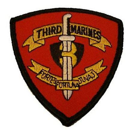 USMC 3RD THIRD MARINE REGIMENT PATCH K BAY HAWAII FORTUNA FORTES JUNAJ 75th Ranger Regiment Patch