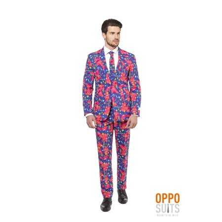 OppoSuits Men's The Fresh Prince Carnival Suit (Prince And The Revolution Halloween Costume)