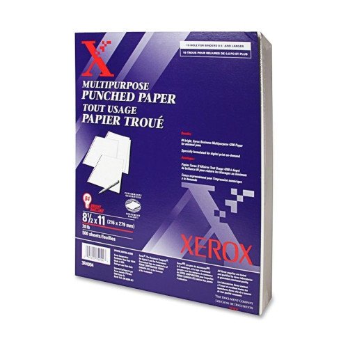 Xerox Business 4200 19-Hole Copy/Laser Paper, 92 Brightness, 20lb, Letter, 5000 Sheets