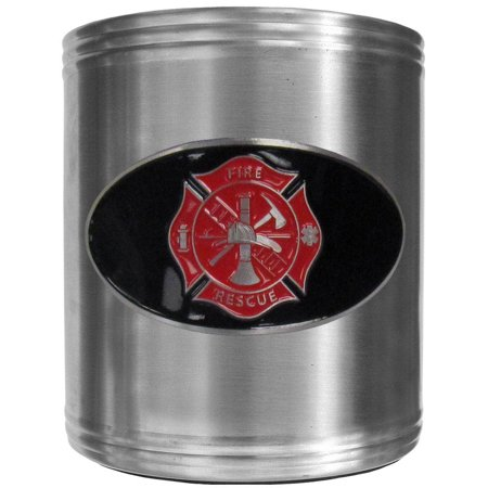 Fire And Ice Grill - Firefighter Can Cooler