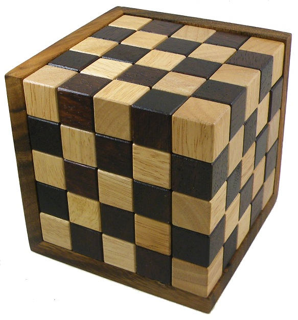 Fancy Enormous Y Cube Wooden Puzzle by Winshare Puzzles and Games